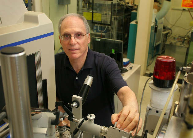 """""""This is a chance to have a positive effect on a lot of the world's population,"""" said senior author David Eisenberg, UCLA's Paul D. Boyer Professor of Molecular Biology. Photo credit: Reed Hutchinson/UCLA"""