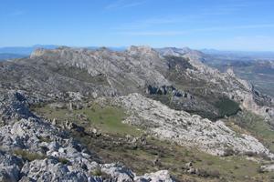 Eine Karstlandschaft in Andalusien, Südspanien. Foto credit: Matías Mudarra, Universität Malaga/Spanien