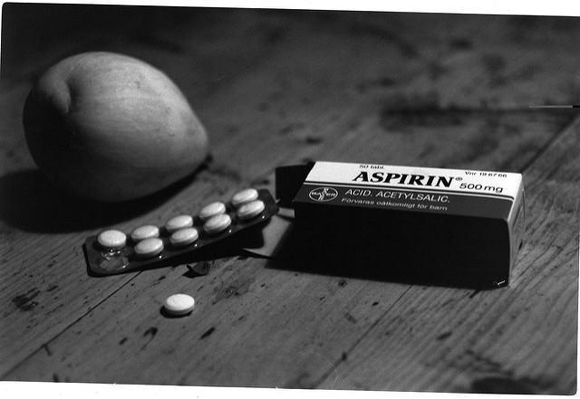 Aspirin. Photo credit: Staffan Enbom (Source:Flickr)