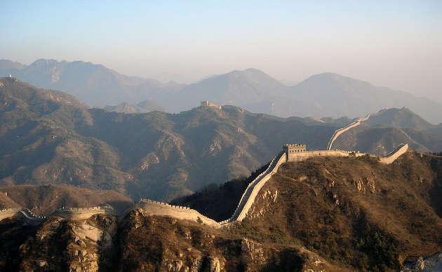 Great Wall of China. Image credit: Bjoern Kriewald
