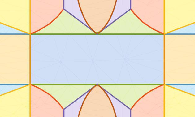 Bereiche, die sich jeweils in ihrem Verhalten von dem klassischen System unterscheiden, für einen XXZ-artigen Hamilton-Operator mit zwei Parametern. (Image credit: MPQ)