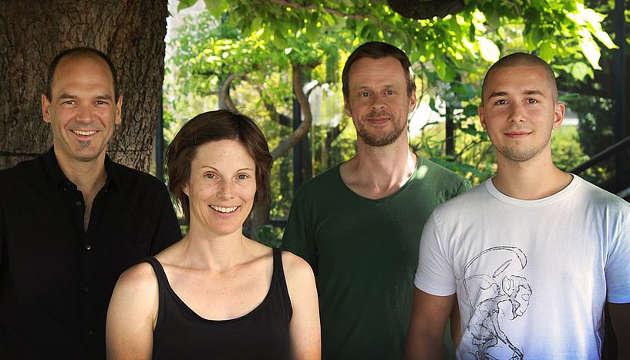 Die Autorinnen der Studie von der Universität Wien: Matthias Horn, Astrid Collingro, Marc Mußmann, Stephan Köstlbacher. Image copyright: Han-Fei Tsao