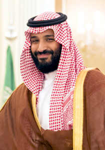 All eyes are now focused on the 32-years old Crown Prince Mohammad bin Salman (MbS). Image credit: The White House (Source: Wikipedia)