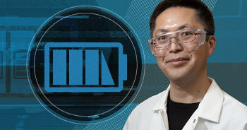 Bingqing Wei is the new director of the Center for Fuel Cells and Batteries. Photo by Kathy Atkinson. Photo illustration by Joy Smoker