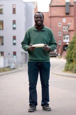 Herr Isaiah Eterno Muchilwa, PhD. Foto credit: Uni Kassel
