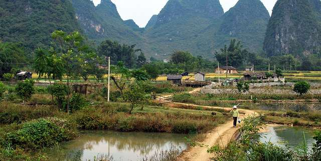Rural China (Image credit: Edward and Caroline, source: Flickr)