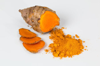 Turmeric (pictured) contains curcumin, which has been shown to have anti-inflammatory and antioxidant properties. Image credit: stevepb (Source: Pixabay)