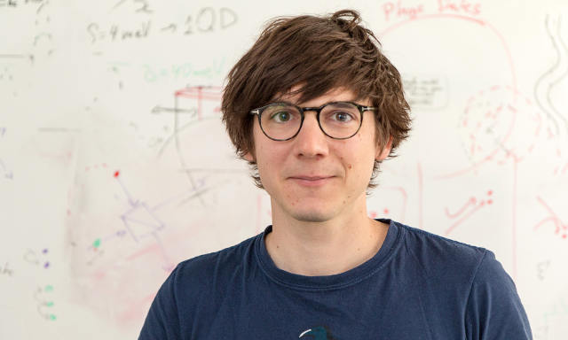 Der Physiker Christoph Dittel (Image credit: Uni Innsbruck)